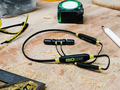 ISOtunes Audio: Wireless Xtra Noise Isolating Earbuds