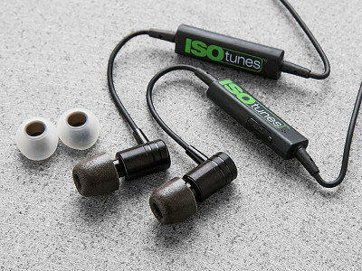 ISOtunes Audio: Wireless Noise Isolating Earbuds