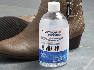 Traction Up: Anti-Slip Shoe Traction Solution