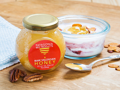Patagonia Bee Products: Monofloral Raw Chilean Honey