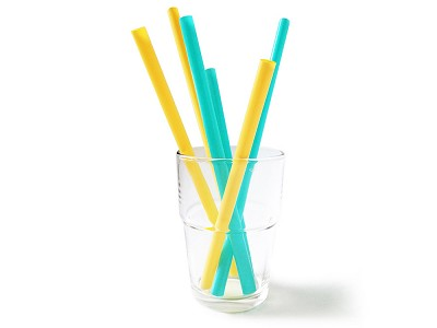 GoSili: Silicone Reusable Straws - Set of 6
