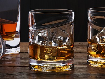 Helix Whiskey Glass