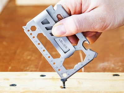 Lever Gear: Pocket Multi-Purpose Tool