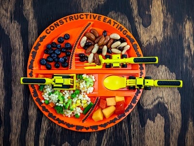 Constructive Eating: Meal Set with Placemat