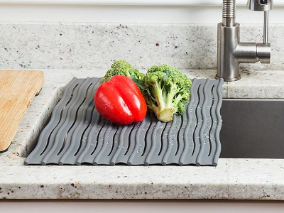Ta-Da: Over-the-Sink Silicone Drying Mat