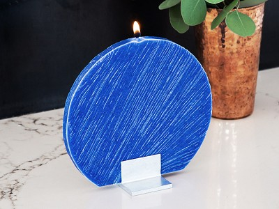 The Austrian Atelier: Flat Circle Candle