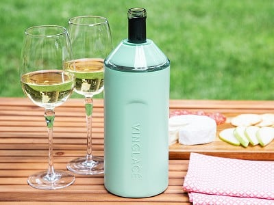 Vinglacé: Stainless Steel Wine Chiller