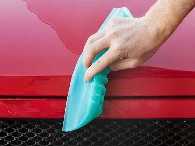 One Pass Water Blade: Multipurpose Silicone Squeegee