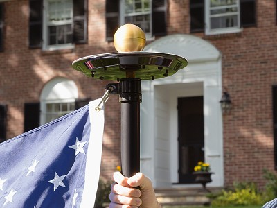 Flagpole Farm: Titan Solar LED Flagpole Light