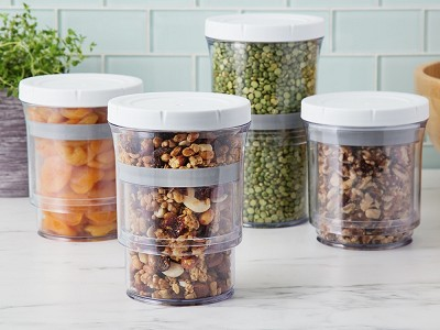 Botto: Adjustable Storage Containers - Set of 4