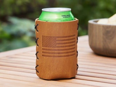 Oowee: Leather Can Sleeve