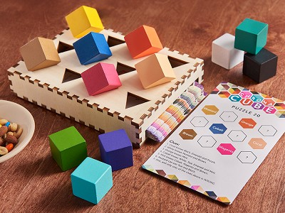 Project Genius: Chroma Cube Color Block Puzzle Game