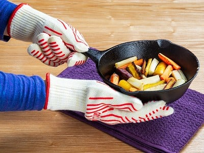 Grill Armor Gloves: Heat-Resistant Cooking & Grilling Gloves