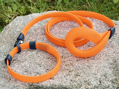 Vuff: Odor-Resistant Ultra Lightweight Dog Collar & Leash Set