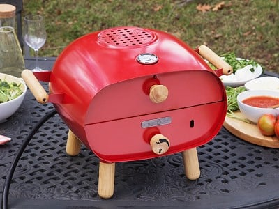 Firepod: Portable Pizza Oven And Grill