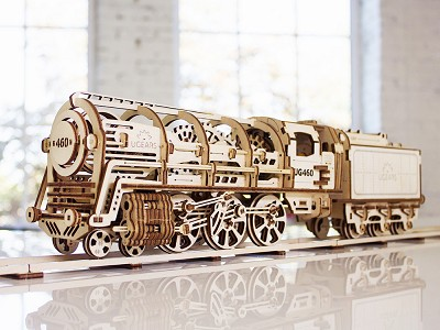 UGEARS: Intermediate Wooden Model Building Kit