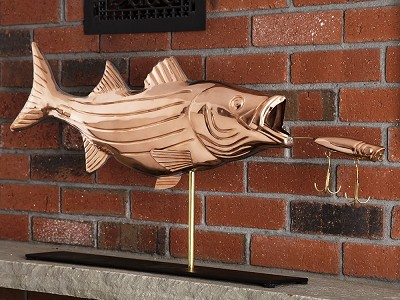 Good Directions: 100% Copper Mantle Sculpture