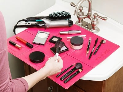 The Matte: Over-The-Sink Makeup Mat