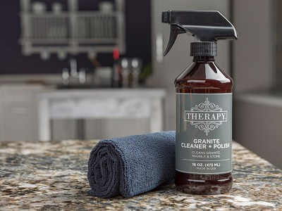 Therapy Clean: Granite Cleaner & Polish Kit