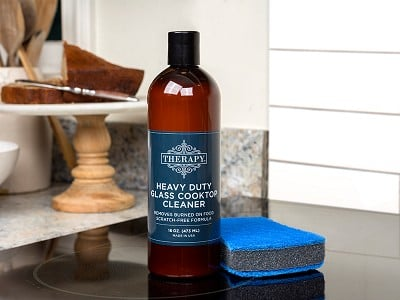 Therapy Clean: Glass Cooktop Cleaner Kit
