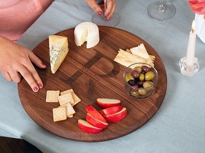 Big Wood Boards: Personalized Lazy Susan