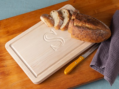 Big Wood Boards: Personalized Rectangle Serving Board