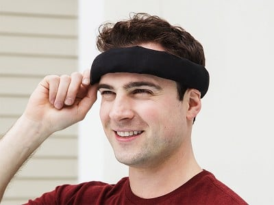 Headache Hat: Halo Wearable Ice Pack