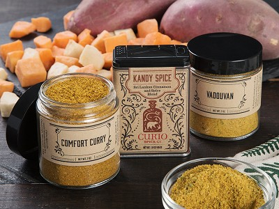 Curio Spice Co.: Curry Spice Gift Set