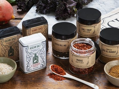 Curio Spice Co.: Spice Gallery Gift Set