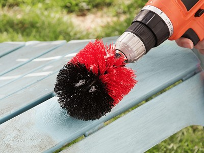 Drill Brushes: Scrubbing Brush For Drill