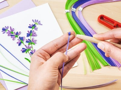 Quilling Card: Advanced Paper Quilling Card Kit
