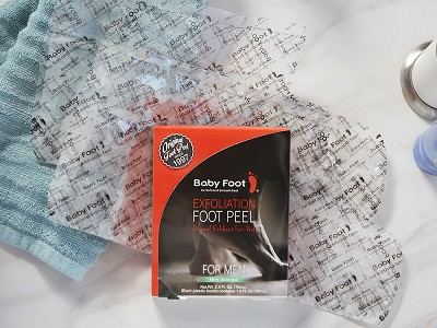 Baby Foot®: Exfoliating Foot Peel for Men