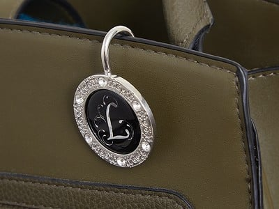 Finders Key Purse®: Key Purse Hanger with Monogram