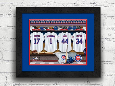 Prints That Rock: Personalized Locker Room Print