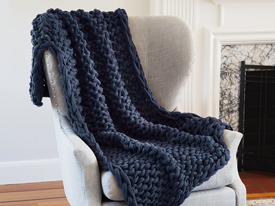 Bedford Collections: Chunky Knit Throw