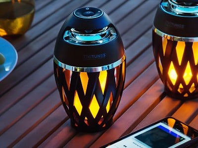 TikiTunes: Ambient LED Outdoor Bluetooth Speaker