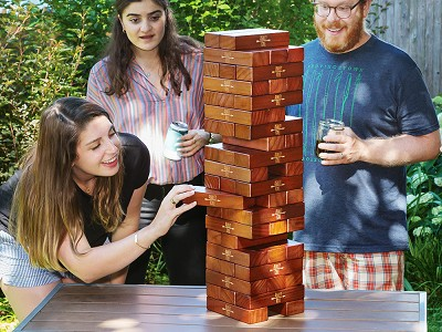 Yard Games: Personalized Giant Tumbling Timbers