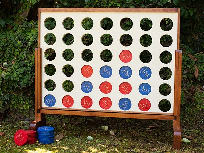 Yard Games: Personalized Giant 4 Connect in a Row
