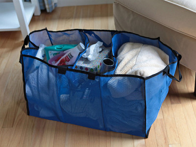 The BetterBasket: 3 Compartment Laundry & Utility Basket