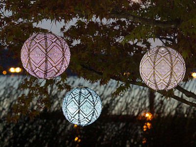 Solar Hanging Lanterns And String Lights By Allsop Lanterns