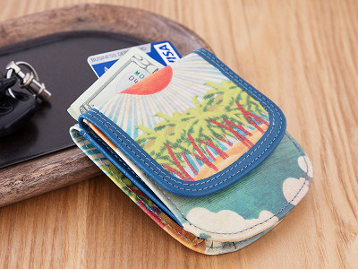 TAXI Wallet: Vegan Leather Wallet