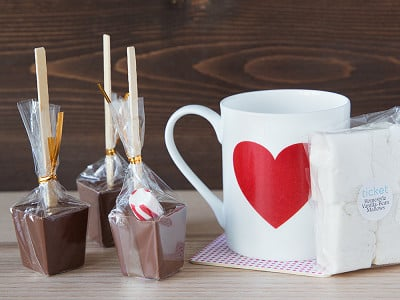 Ticket Kitchen: Heart Mug Sipping Kit