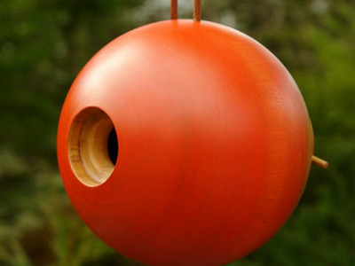 Byer of Maine: Globe Bird Home