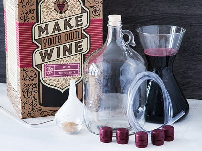 Craft a Brew: Premium Wine Making Kit