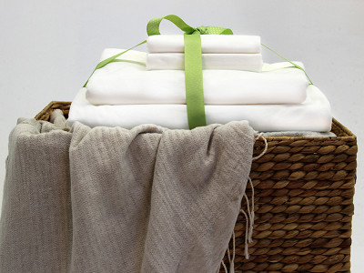 Beantown Bedding: Laundry-Free Linens