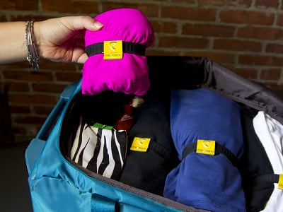 rollnband: Space-Saving Packing Aid