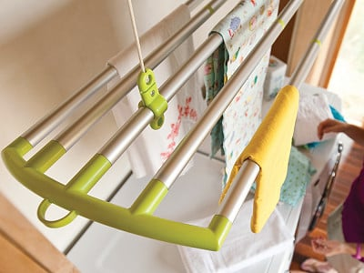New Clothesline Company: LOFTi + DUO Drying Rack