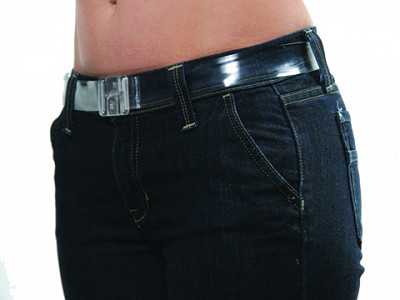 Invisibelt: Clear No Buckle Belt