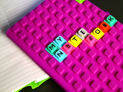 WAFF: Silicone Notebook & Cubes Set