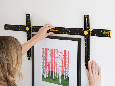 "Hang It Perfect: 36"" Picture Hanging Tool"